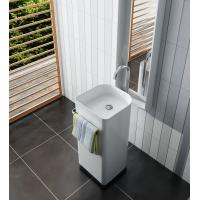 Artificial Stone Free Standing Wash Hand Basins  Easy To Install Manufactures