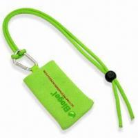 Handy Mobile Phone Sock Lanyard with Printed Logo, Polyester Blank Rope and Mobile Handy Sock Manufactures