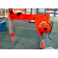 1 Ton 1000 KG High Efficiency Compact Low Headroom Electric Double Hook Chain Hoist Manufactures