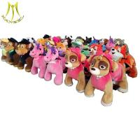 China Hansel walking animal scooters in mall battery power ride unicorn electric animals ride on sale