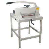 China Durable 1000W Manual Paper Cutter With Hand Wheel Push System 4708 on sale