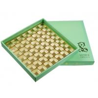 Luxury Chocolate Color Packaging Gift Boxes , Top and Base Box With Window Package Manufactures