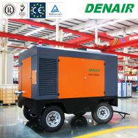 China Diesel Portable Mobile Screw Air Compressors for Underground Drilling Equipment on sale