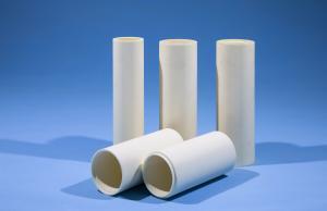 China Heat Resistance Al2o3 95 99 99.5 99% Alumina Ceramic Furnace Tube Tube With Both Ends Open on sale