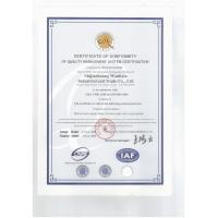 Shijiazhuang Wanlixin Industrial and Trade Co., Ltd. Certifications