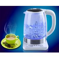 Glass Electric Kettle 2.0 liter adjustable temperature keep warm Manufactures