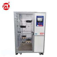 AC220V Mobile Phone Test Equipment  , Single Drum Drop Impact Testing Machine With Protective Cover Manufactures