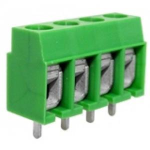 300V 16A 12 - 26 AWG German raw screw terminal block connector, power terminal blocks Manufactures
