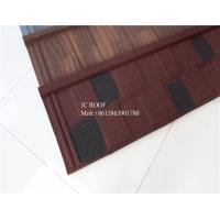 Fire proof Stone Chips Coated Step Metal Roof Tile Aluminium Zinc Roofing Sheets Manufactures