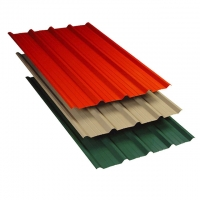 China Color Steel Roof Metal Corrugated Sheet on sale