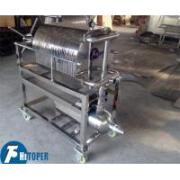 Stainless Steel Plate Frame Chemical Filter Press For Solid Liquid Separation Manufactures