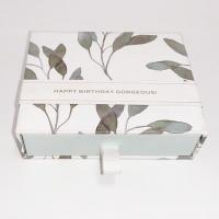 China Custom Printed Jewelry Boxes Sliding Drawer Gift Boxes For Earring Package on sale