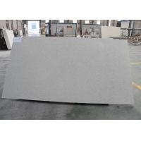 Starfish Cream White Quartz Countertop Slabs With Gold Shining No Dirt Absorption Manufactures