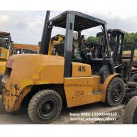 used tcm 4.5ton FD45T9 diesel forklift , low work hrs, originally made in japan , 3 meters lifting height Manufactures