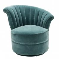 modern classic velvet fabric singe lounge chairs for luxury wedding furniture Manufactures