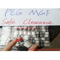 China Peptide Steroid Hormones , 2mg PEG MGF Peptide With Pegylated Mechano Growth Peptides on sale