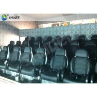 Upgrading Technology 5D Movie Theater System Electric Luxury Motion Rides Manufactures