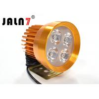Yellow Motorcycle Led Headlight Conversion , Motorcycle Led Running Lights Manufactures