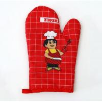 2017 ODM/OEM Promotional customized professional cotton cooking oven gloves Manufactures