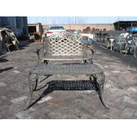 Modern Cast Iron Table And Chairs With Antique Bronze Color Cast Iron Outdoor Dining Set Manufactures