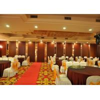 Melamine Operable Partition Conference Room Movable Walls 2000 - 4000MM Height Manufactures