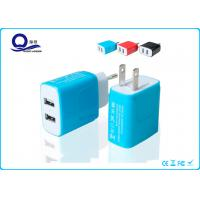Multi Port Apple Iphone 6 USB Wall Charger Station , Apple USB Power Adapter Charger Manufactures