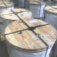 1 / 2 X 1000 FT 1X7 EHS Guy Strand Wire Galvanized For ASTM A475 Standard Manufactures
