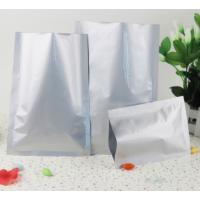 China Heat Sealable Aluminum Foil Packaging Small Bags With Tear Notches Mylar Vacuum Sealer Smell Leak Proof Pouches on sale