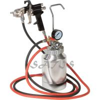 3 bar Pneumatic Tool  2ltr Pressure Tank with Air Regulator Paint Pot Spray Gun for shoes , wood Manufactures