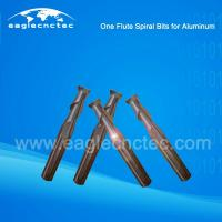 China Aluminum Cutting Router Bits |One Flute Spiral Bits For Aluminum on sale