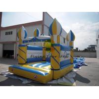 PVC Inflatable Castle Bouncer Reusable / Fireproof , Colorful Manufactures