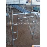 Open End Frame Scaffolding System , Steel Stair Scaffolding System Height 1930mm Manufactures