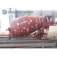 China Manual Control 3 Cubic Meter Mixer Trailer Upper Body For 4x2 Chassis on sale