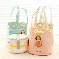 Cartoon Character Kids Insulated Lunch Bag 190T With Aluminum / Pearl Form Inner Manufactures