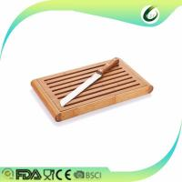 China Cheap vegetable chopping cutting board set with stand on sale