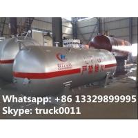 China high quality and competitive price 3000kg lpg gas tank for sale, factory price CLW brand surface lpg gas storage tank on sale