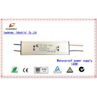 IP67 Waterproof Energy-efficient 30W 300mA LED power supply, 90-264V AC Input Voltage Manufactures