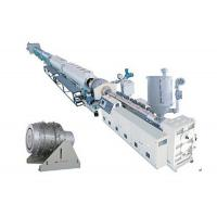 Quality PVC UPVC Pipe Winding Machine , Double Stage Screw Pipe Extrusion Line for sale