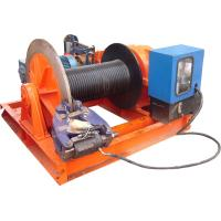 15t Lifting Load Electric Cable Hoist Winch Consisting Of A Horizontal Cylinder Manufactures