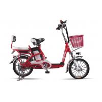 Lady , Students Lithium Bicycle Small Electric Bikes With Removable Battery Box Manufactures