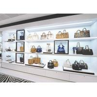 Boutique Handbag Display Shelves / Store Display Cabinet Disassembly Structure Manufactures