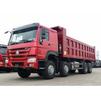 40 - 50 Ton Heavy Dump Truck 371HP Horse Power WD615.47 Diesel Engine Manufactures