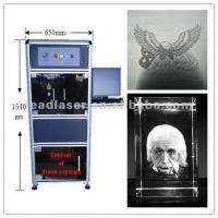 Subsurface Engraving Automatic Laser Marking Machine Fast Processing Speed Manufactures