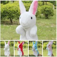 Performance Show Stuffed Animal Hand Puppets Baby Developmental Hand Toy Manufactures