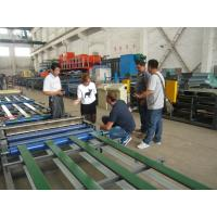 Steel Texture Indoor Partition Construction Material Making Machinery 1cm - 15cm Thickness Manufactures