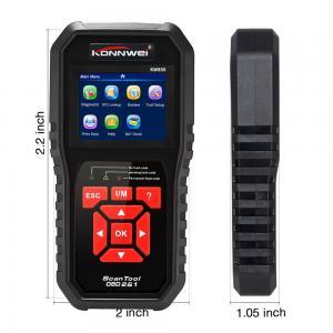 China Portable Auto Engine Analyzer KW850 Code Reader Automotive Repair Tools NT301 Exhaust Gas Sensor on sale