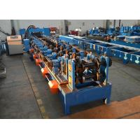 Auto Width Adjust Purlin Roll Forming Machine 100 - 400mm CZ Purlins Producing Use Manufactures