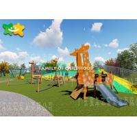 Diy Kids Outdoor Playground Equipment Set Swing And Slide Toys For Toddlers Manufactures