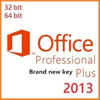 Microsoft Office Product Key Codes, Office Professional Plus 2013 Brand New OEM Key Manufactures