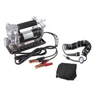 Portable Fast Inflation Powerful Chrome 12V Car Air Compressor Kit For Tire Manufactures